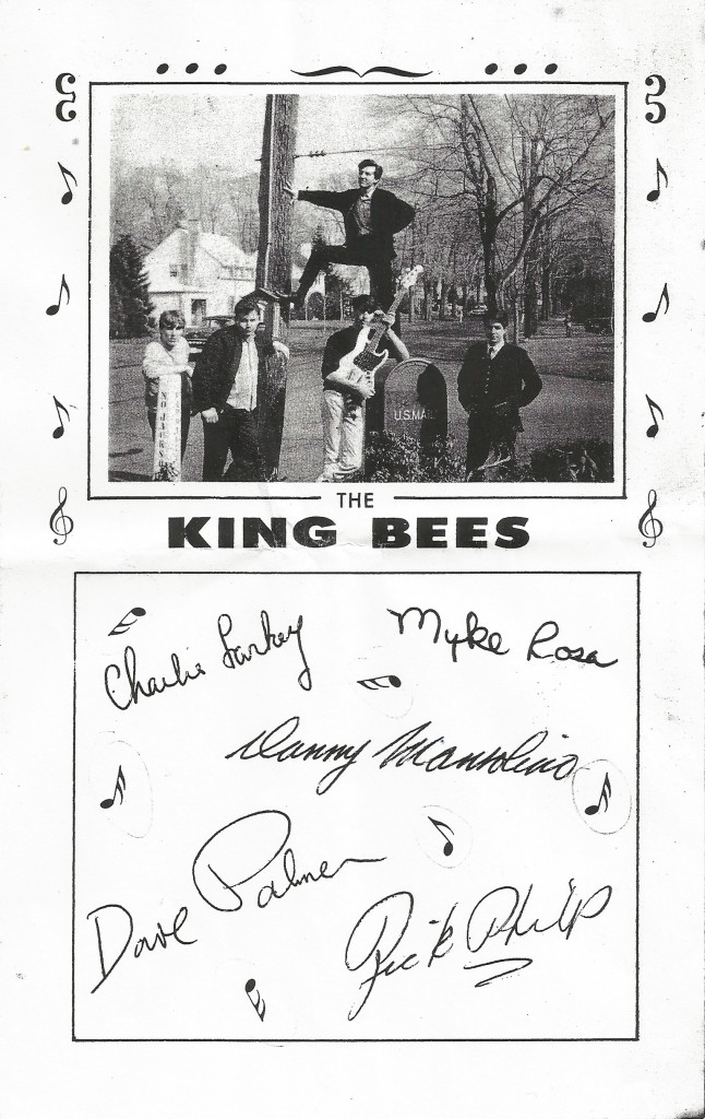 King Bees Myddle Class Photo w. signatures