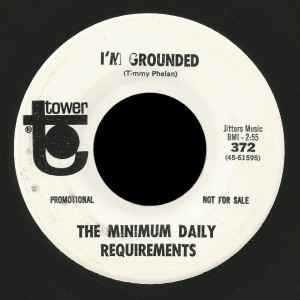 Minimum Daily Requirements Tower 45 I'm Grounded