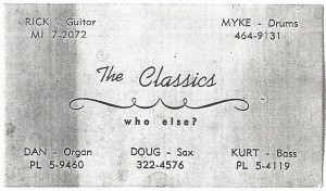 Myddle Class - Classics Business Card 3