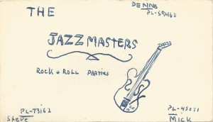 Myddle Class - Jazzmasters Card