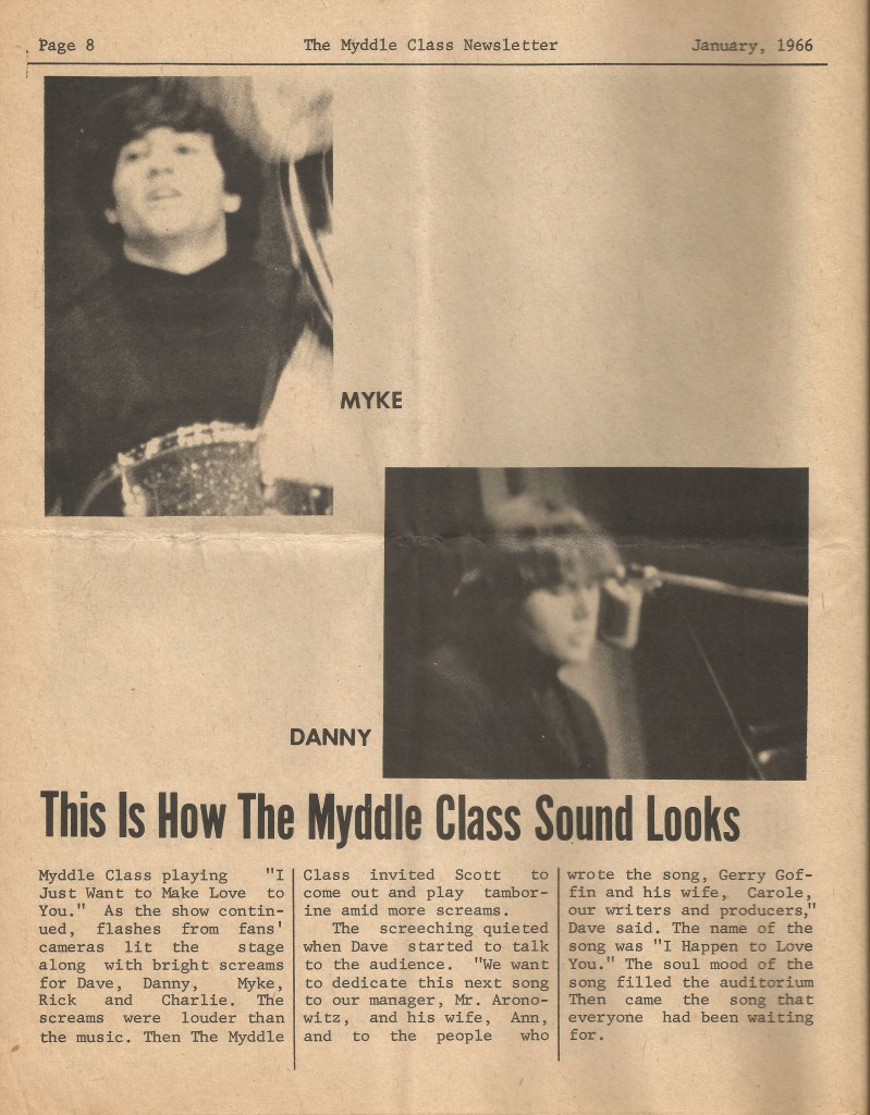 Myddle Class Newsletter Issue 4, Page 8
