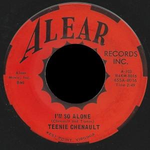 Teenie Chenault Alear 45 I'm So Alone