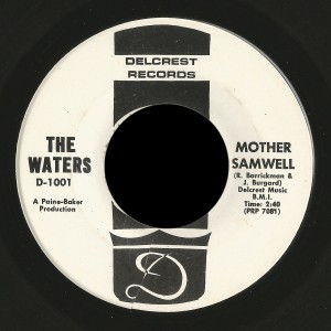 Waters Delcrest 45 Mother Samwell