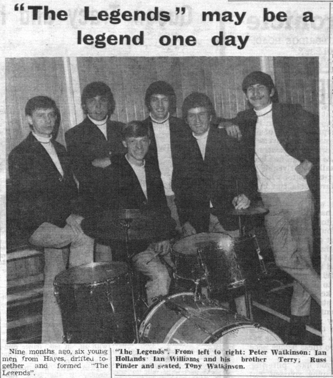 The Legends Uxbridge Chronicle 1967 JulyA