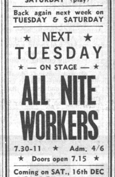All Nite Workers & Jo-Jo Gunne at the Walton Hop, the Herald & News, Dec. 8, 1967