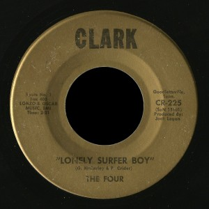 The Four Clark 45 Lonely Surfer Boy