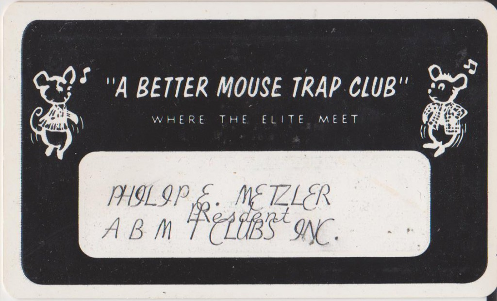 Mouse Trap Club Card