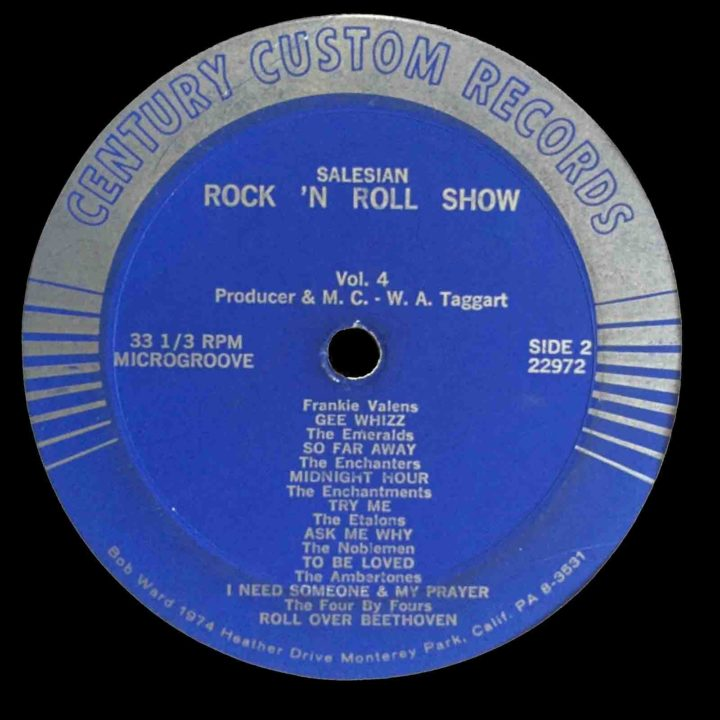 Salesian Rock 'n Roll Show Vol. 4 Century Custom LP Side 2