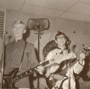 Paul Talley (right) with the Electric Theater