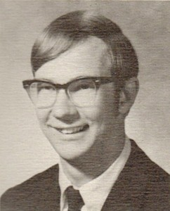 Paul Talley Senior Portrait, 1970