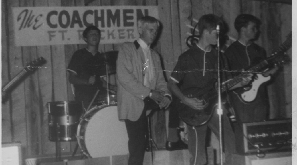 The Coachmen at Grannys Teen Club, Opp, Alabama, 1965