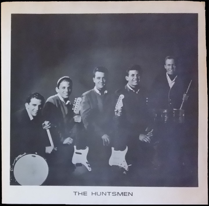 The Huntsmen - picture sleeve courtesy of Jim Wilson