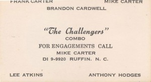 Challengers Business Card
