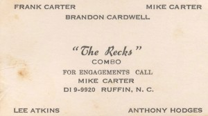 IV Pak - The Recks Combo Business Card