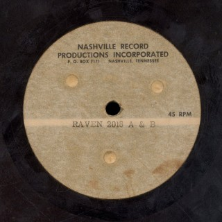 The Individuals - Nashville Record Productions Acetate for Raven 2018 (detail)