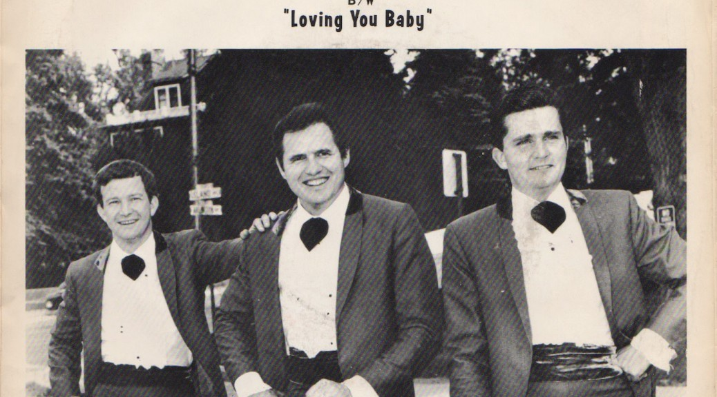 """Jack Bedient & the Chessmen, Executive PS """"I Could Never Lose My Love for You"""""""