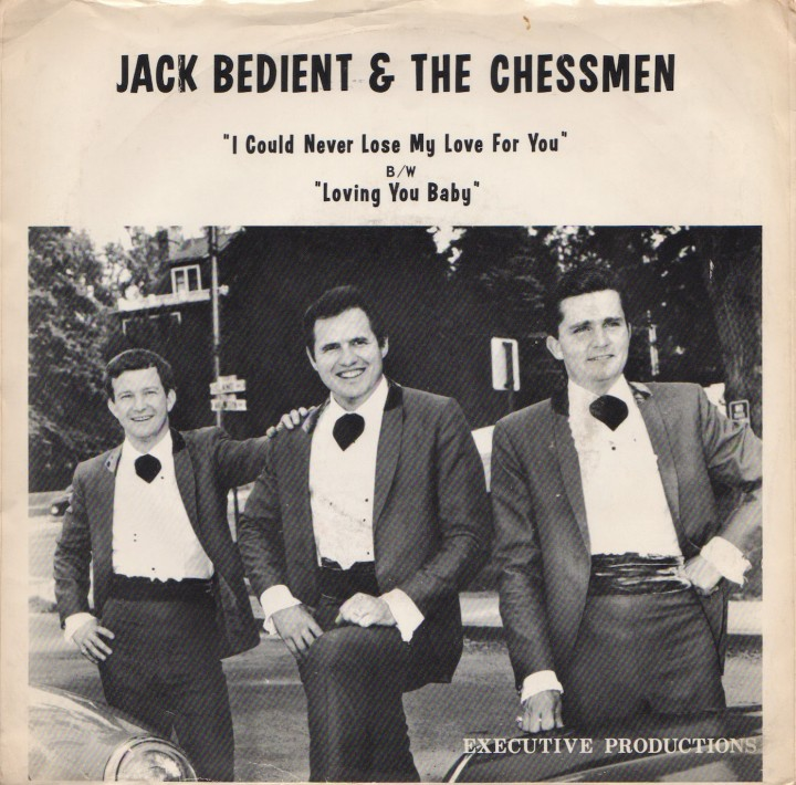 "Jack Bedient & the Chessmen, Executive PS ""I Could Never Lose My Love for You"""