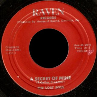 The Lost Soul Raven 45 A Secret of Mine