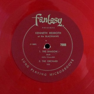 Kenneth Rexroth Fantasy LP 7008, Poetry and Jazz at the Black Hawk, Side A