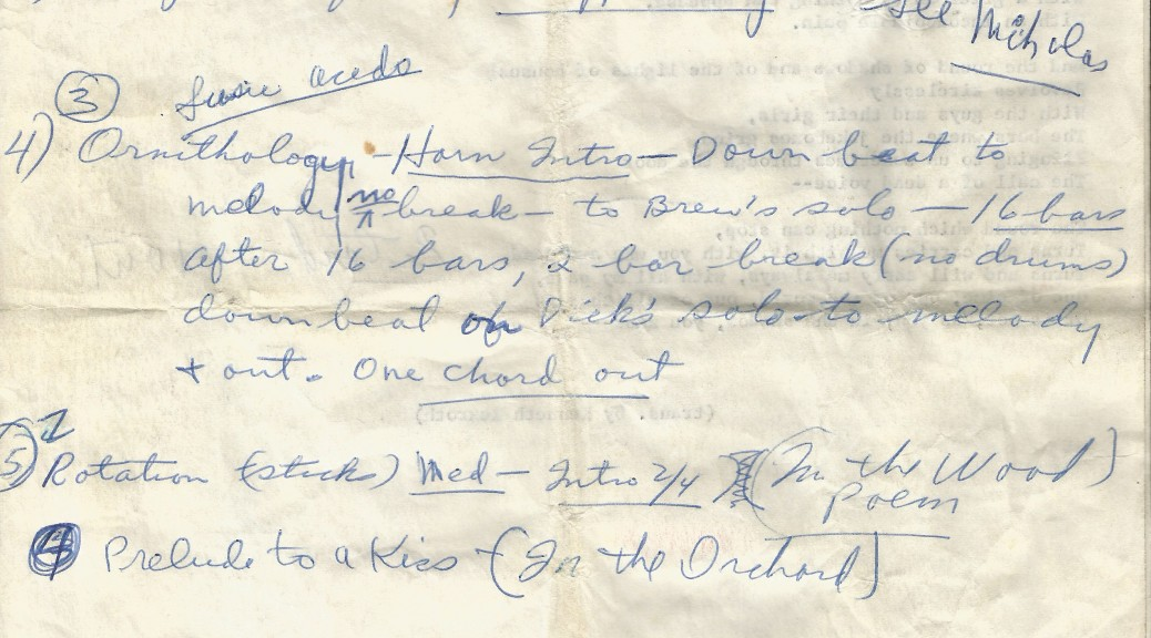 Kenneth Rexroth at the Black Hawk, notes by Hank Uribe