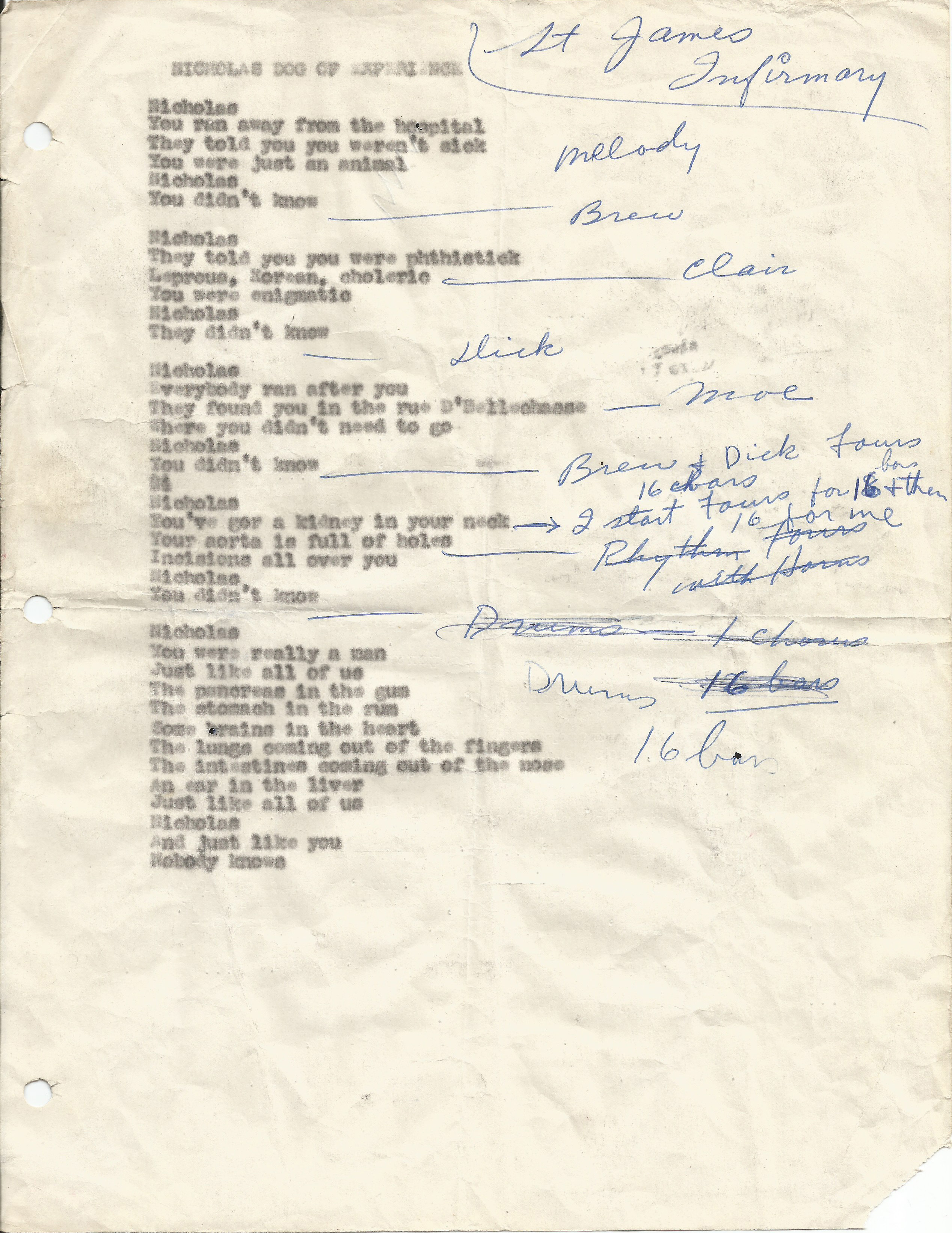 Kenneth Rexroth at the Black Hawk | Garage Hangover