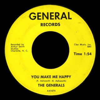 Generals General 45 You Make Me Happy