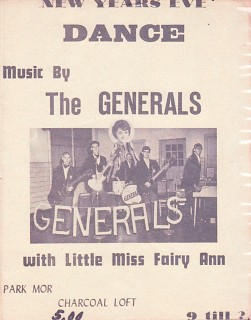 Generals New Years Eve Poster
