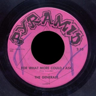 The Generals Pyramid 45 For What More Could I Ask