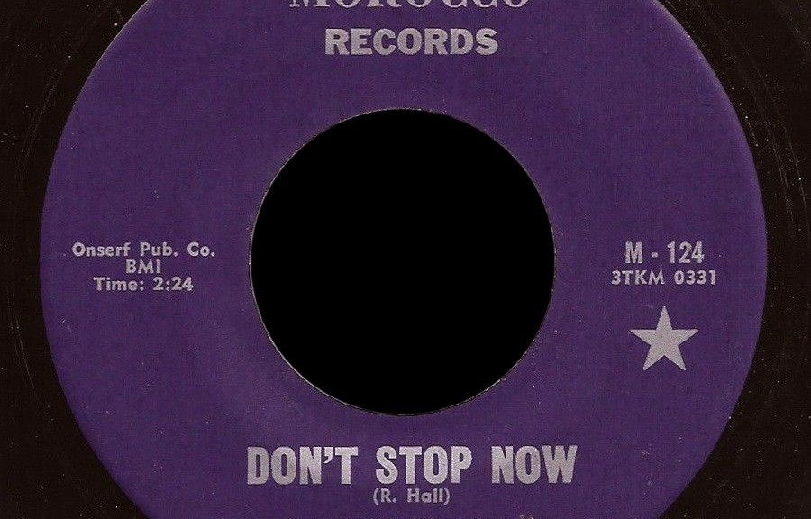 Randy Hall Morocco 45 Don't Stop Now