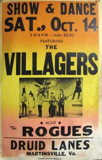 The Villagers & the Rogues at Druid Lanes, Martinsville, October 14