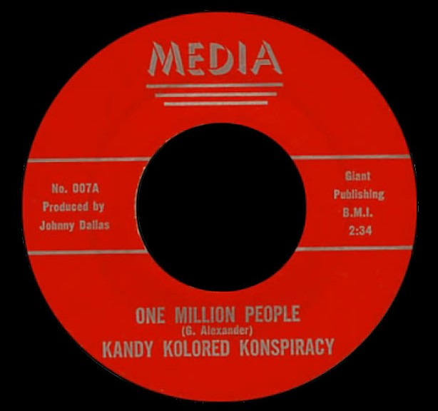 Kandy Kolored Konspiracy Media 45 One Million People