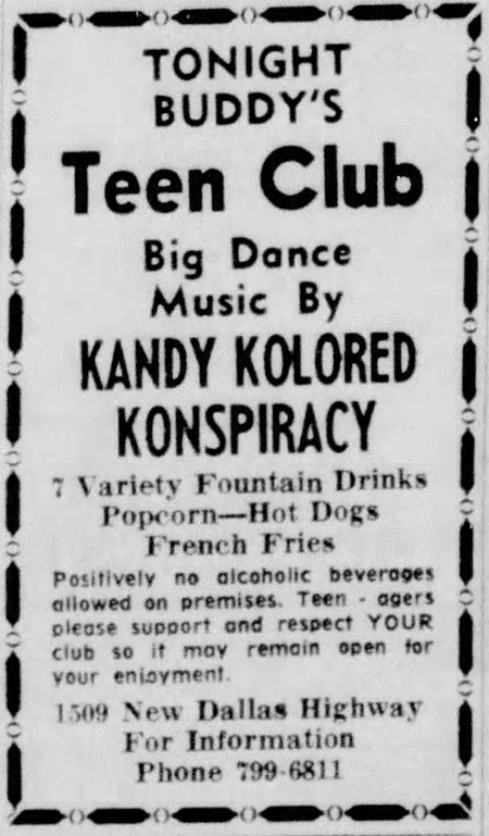 Kandy Kolored Konspiracy Waco Tribune Herald 1969 Aug 2