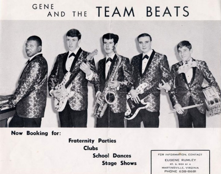 Gene & the Team Beats 1965 Promotional Flyer