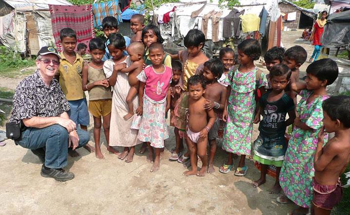 Gene Rumley, India