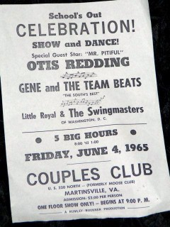 Gene & the Team Beats Otis Redding June 4, 1965