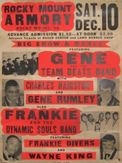 Gene & the Team Beats Rocky Mount Armory, December 10