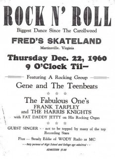 Gene & the Teenbeats at Fred's Skateland with the Fabulous Ones
