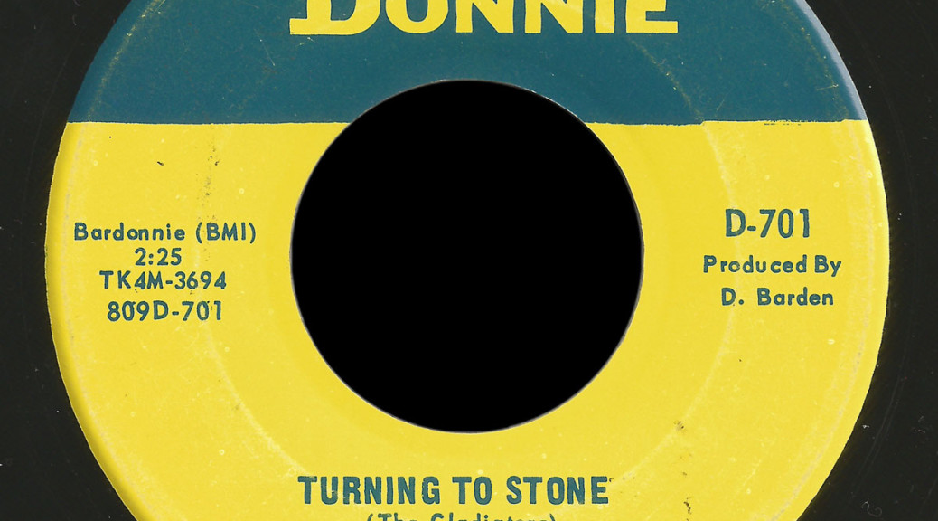 Gladiators Donnie 45 Turning to Stone