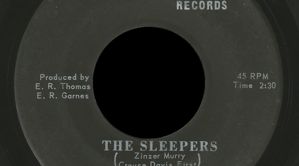 Sleepers Marvy 45 I Want a Love