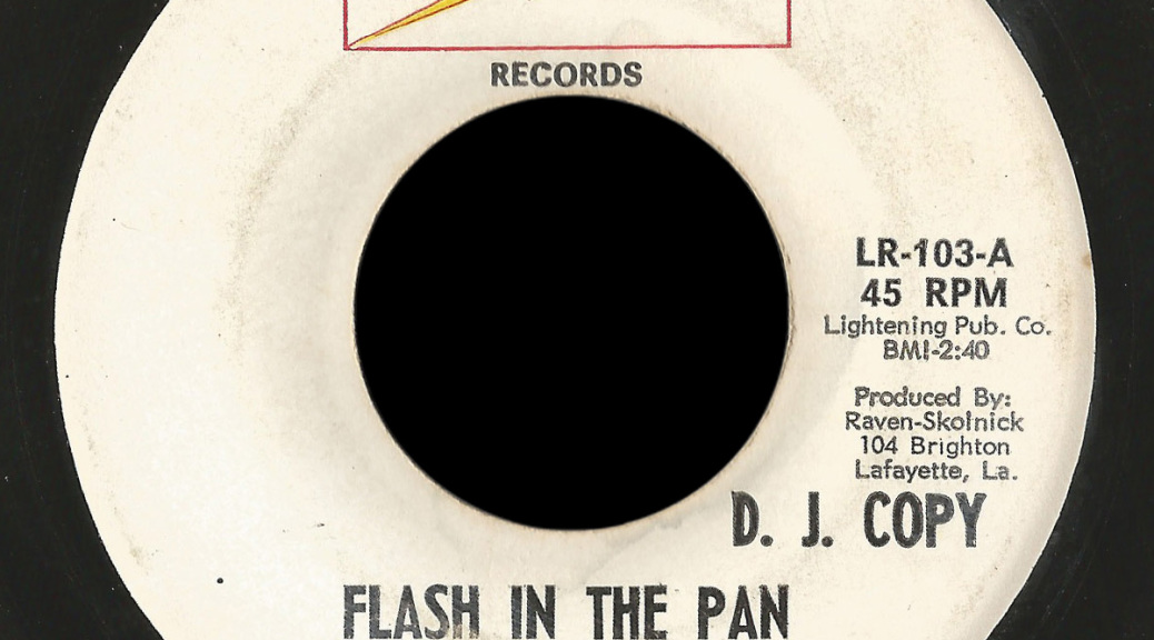 The Persian Market Lightning 45 Flash In The Pan