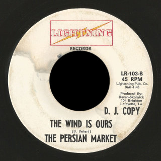 The Persian Market Lightning 45 The Wind Is Ours