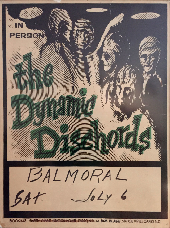 Dynamic Dischords Poster, Balmoral