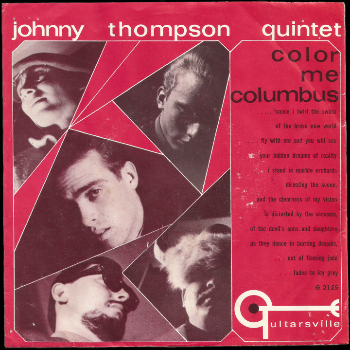 Johnny Thompson Quintet Guitarsville PS Color Me Columbus