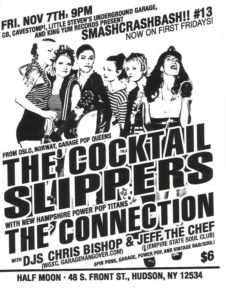 SmashCrashBash Cocktail Slippers The Connection November 7, 2014