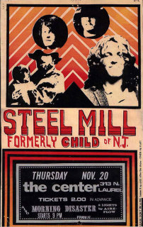 Steel Mill American Band Poster