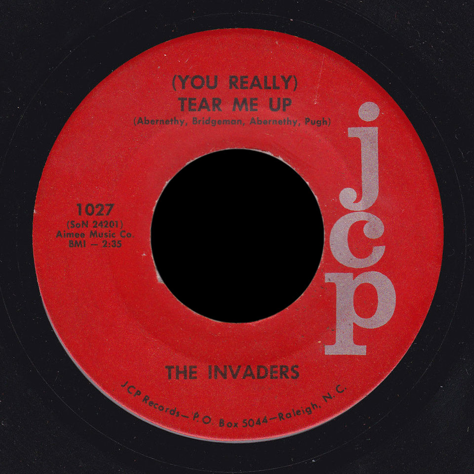 The Invaders You Really Tear Me Up Workin For Your Love