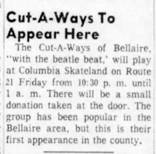 The Cut-a-ways, New Philadelphia Daily Times, May 11, 1964