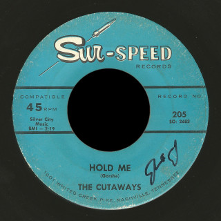 The Cutaways Sur Speed 45 Hold Me