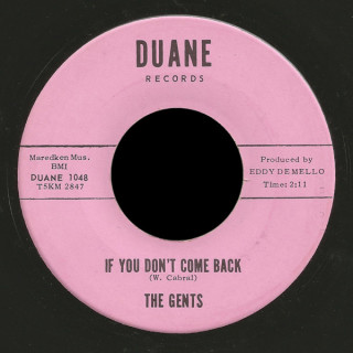 The Gents Duane Records 45 I'll Cry