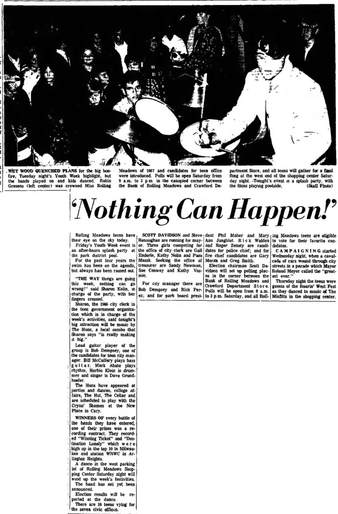The Huns Daily Herald Friday, August 25, 1967